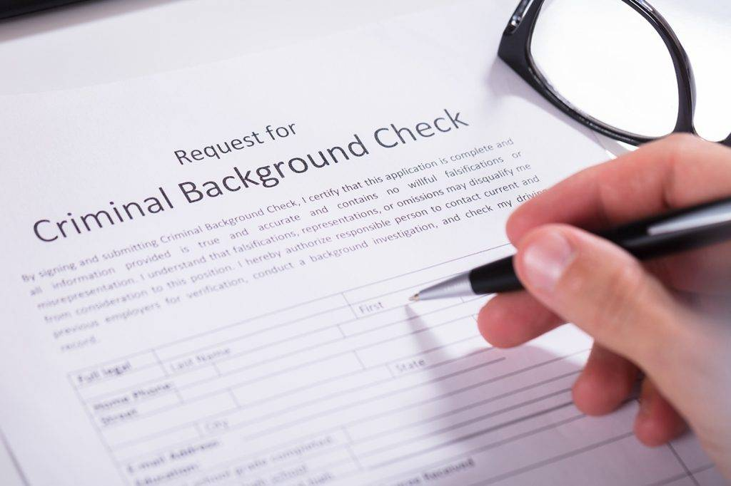 criminal record bureau check